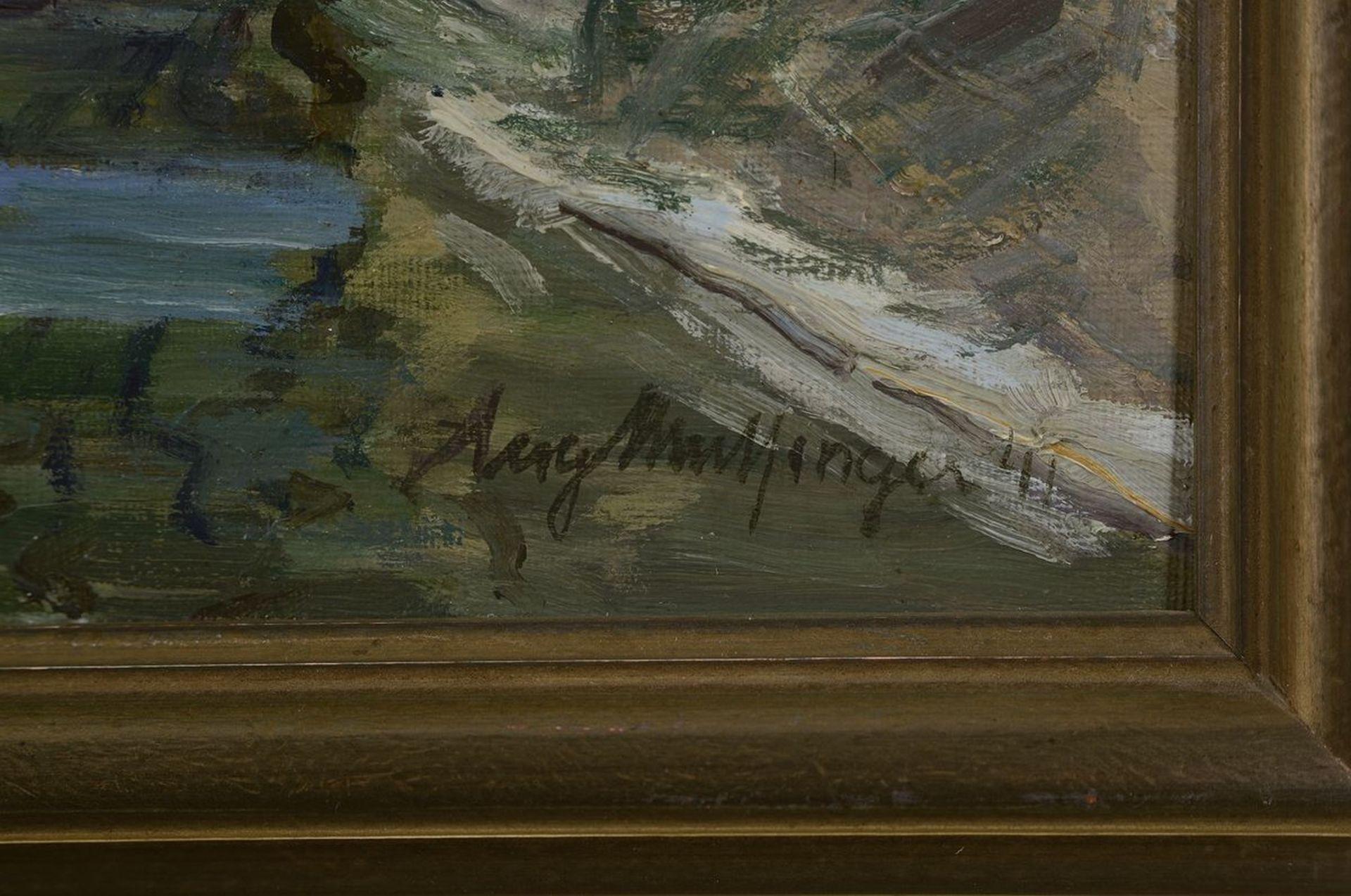 Karl Mulfinger, 1882 Schwäbisch Hall-1956 Ebingen, Blick - Bild 2 aus 3