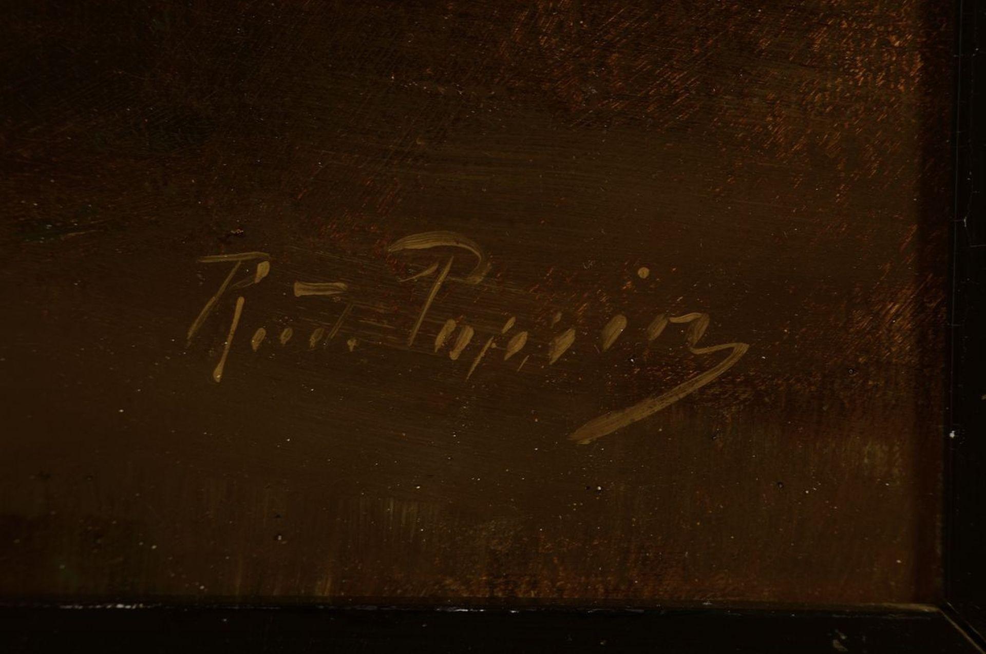 Rudolf Possin, 1861 Magdeburg-1922 Berlin, Holländisches - Bild 2 aus 3