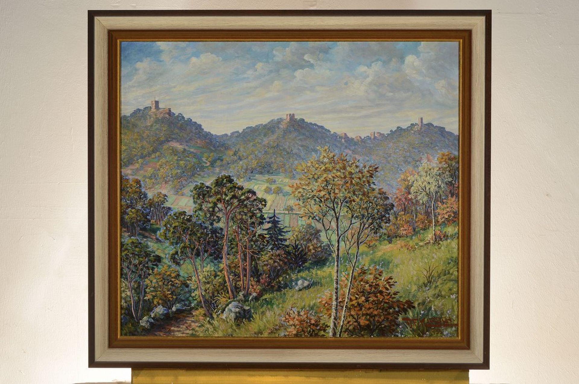 August Friedrich Kirsch, Maler aus Edenkoben, 1. Hälfte - Bild 3 aus 3