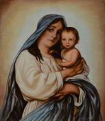Saliger, Ivo, 1894 Königsberg-1987, Maria mit dem Kind,