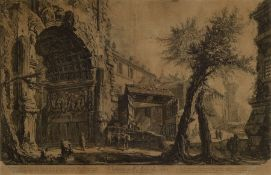 Giovanni Battista Piranesi, 1720-1778, Veduta dell Arco