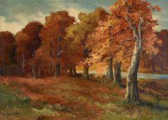 3 Gemälde von F. John, Pfälzer Maler, Anfang 20. Jh., 2