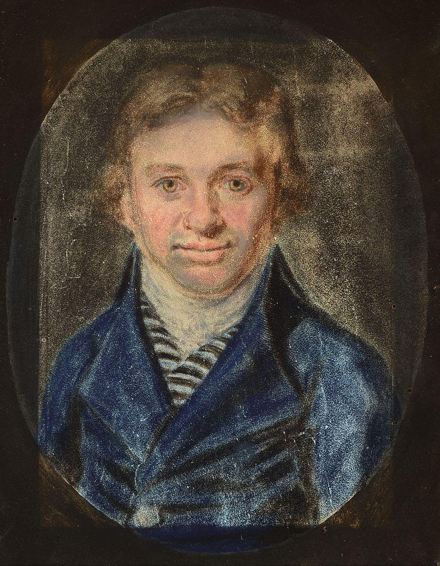 Unbekannter Künstler, um 1810, Porträt eines Mannes im