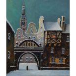 Paul Kreisel, 1891-1982 Danzig, Marienkirche in Danzig in