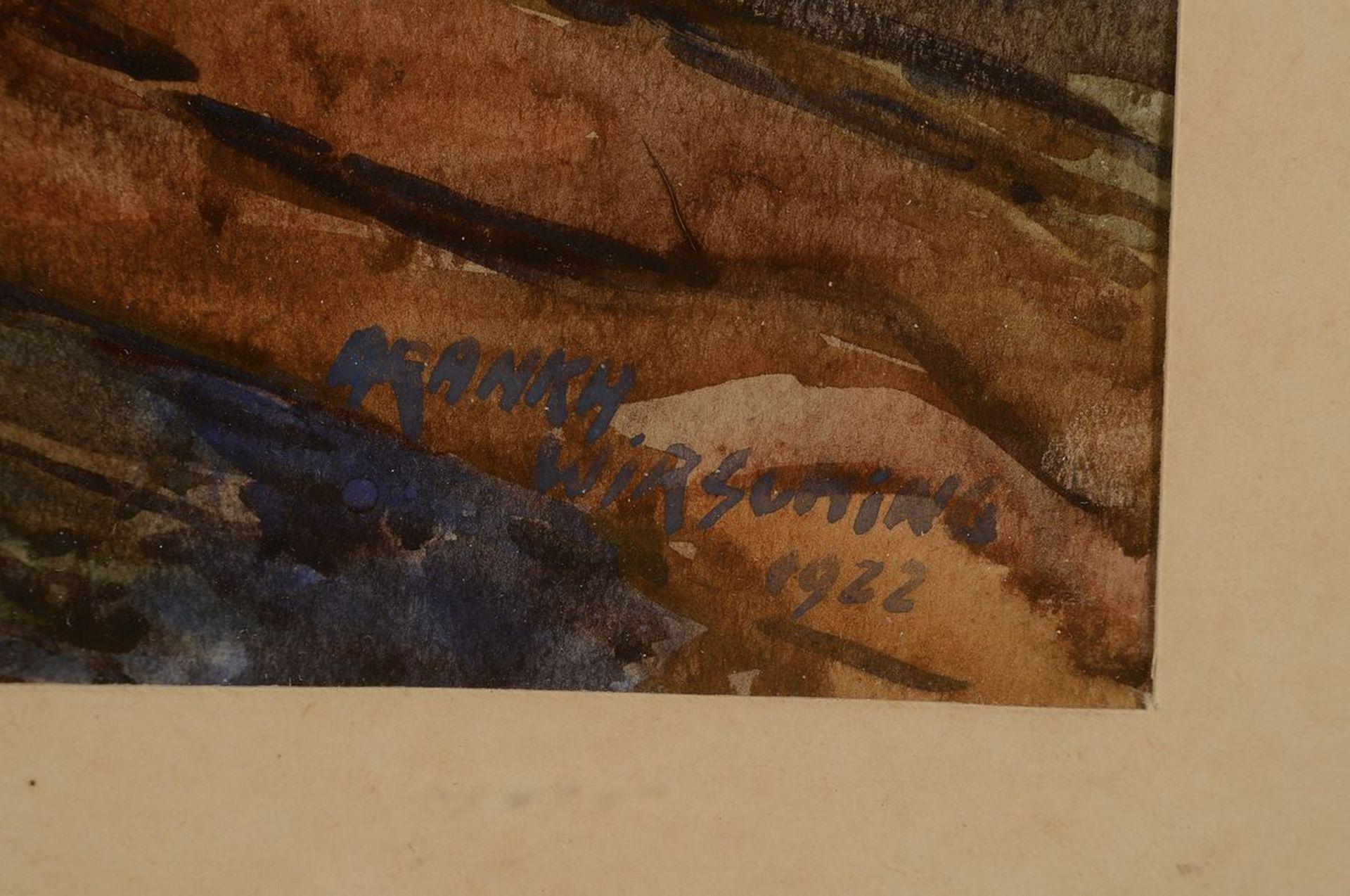 Aranka Wirsching, geb. Kovacs, geb. 1887 Budapest, Gattin - Bild 2 aus 3