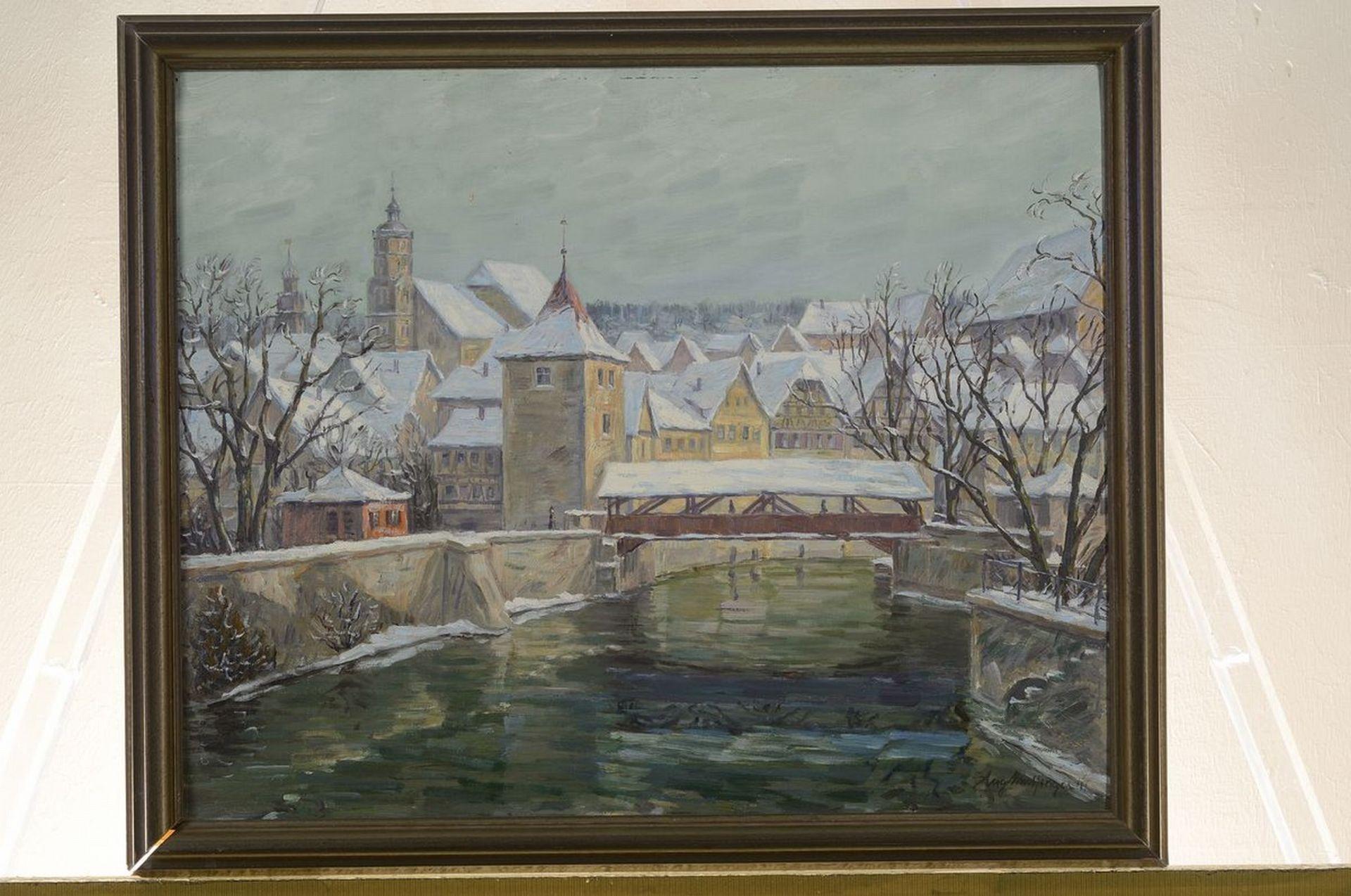 Karl Mulfinger, 1882 Schwäbisch Hall-1956 Ebingen, Blick - Bild 3 aus 3