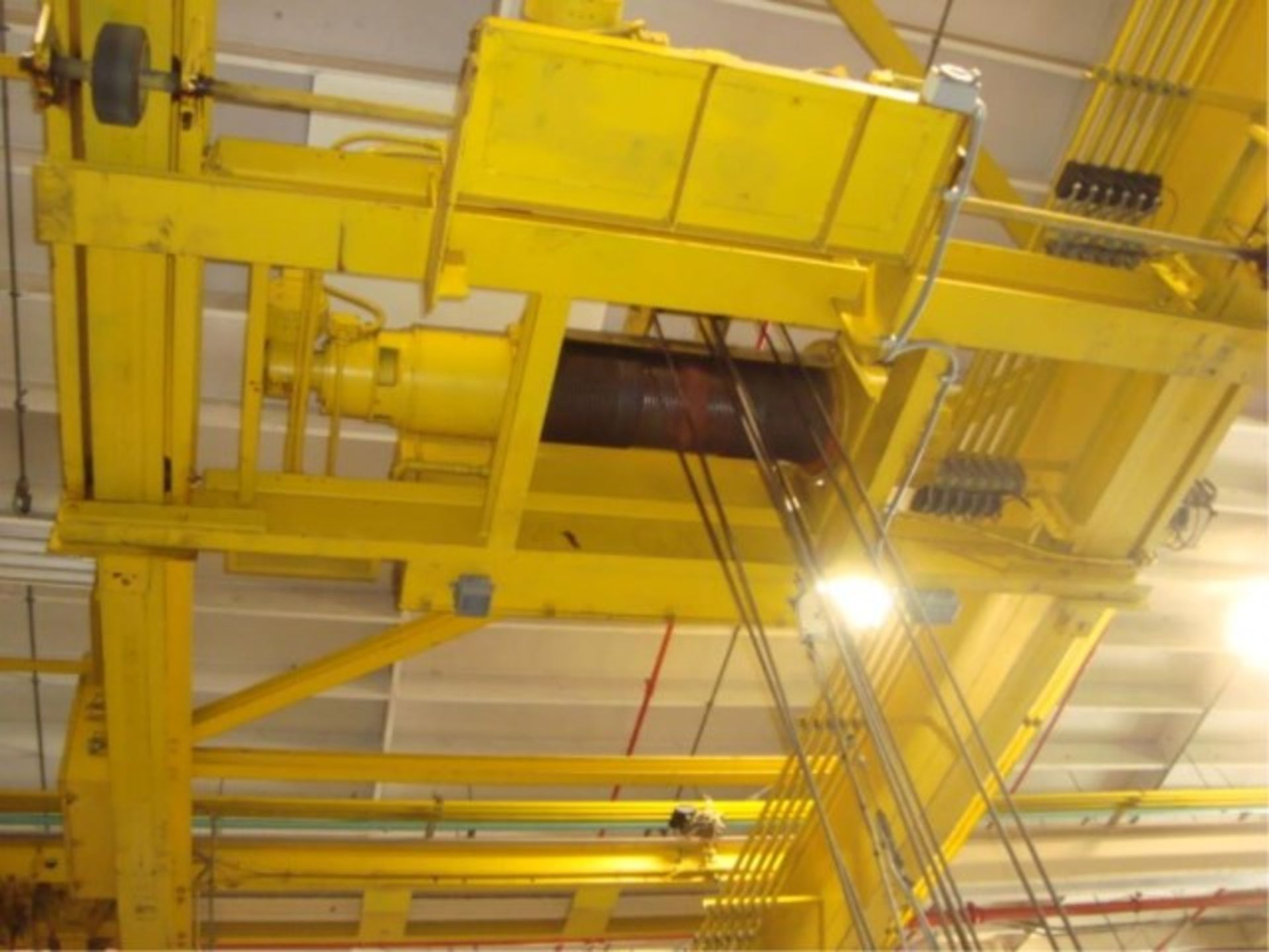 Lot 116 - 10-Ton Capacity Overhead Bridge Crane