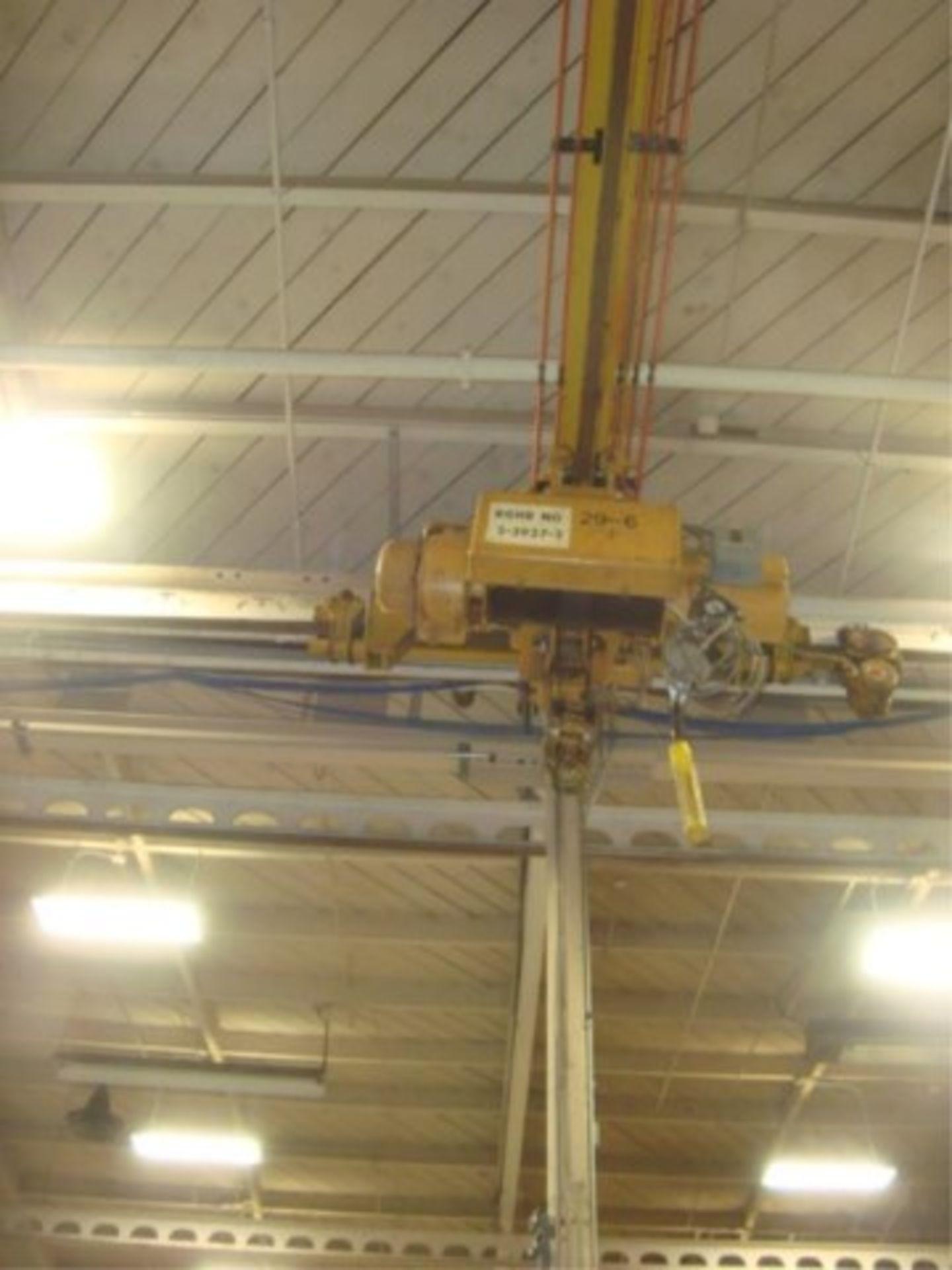 Lot 111 - 5-Ton Capacity Overhead Bridge Crane