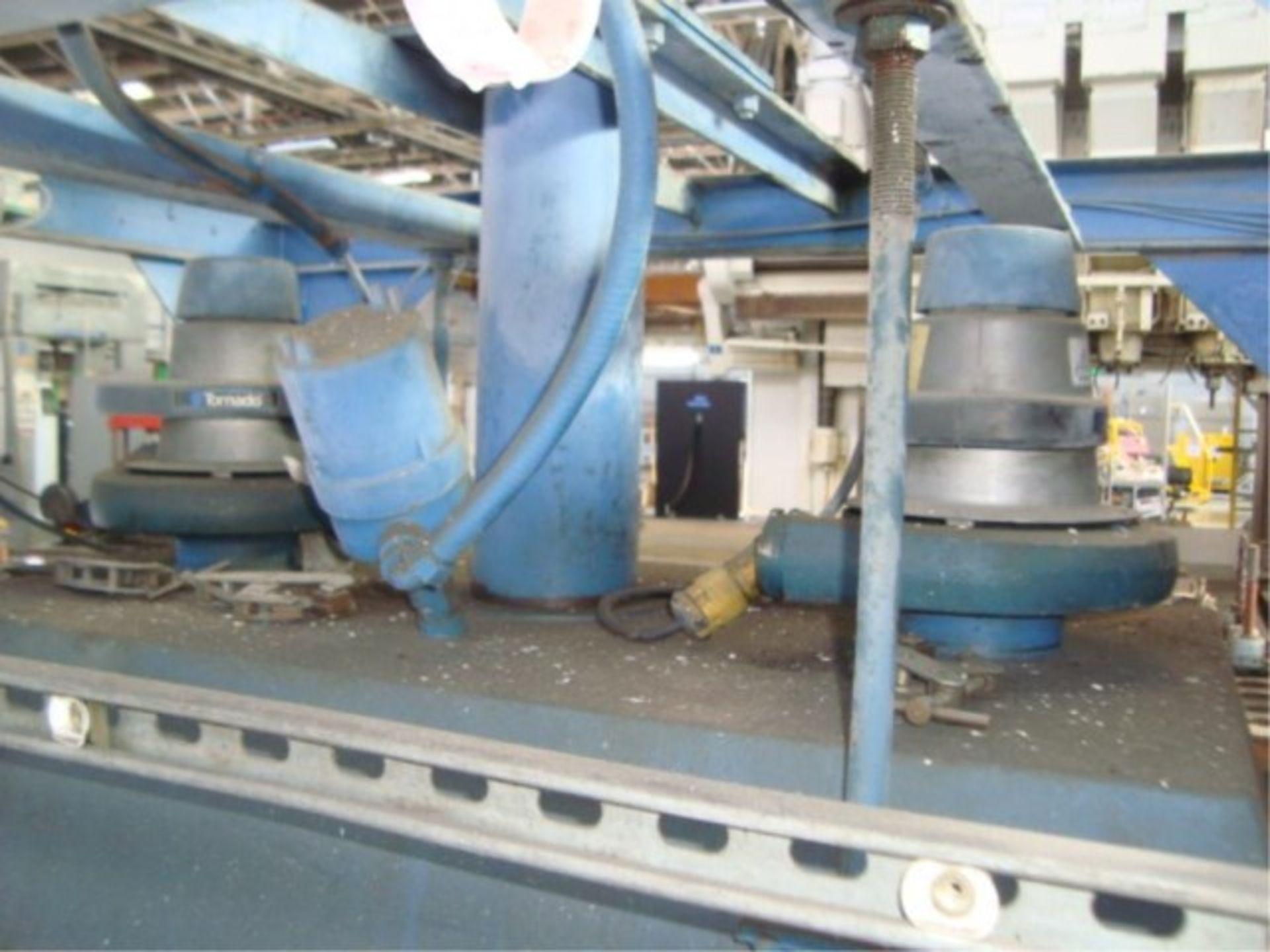 Lot 146 - Heavy Duty Four Spindle CNC Bridge Mill
