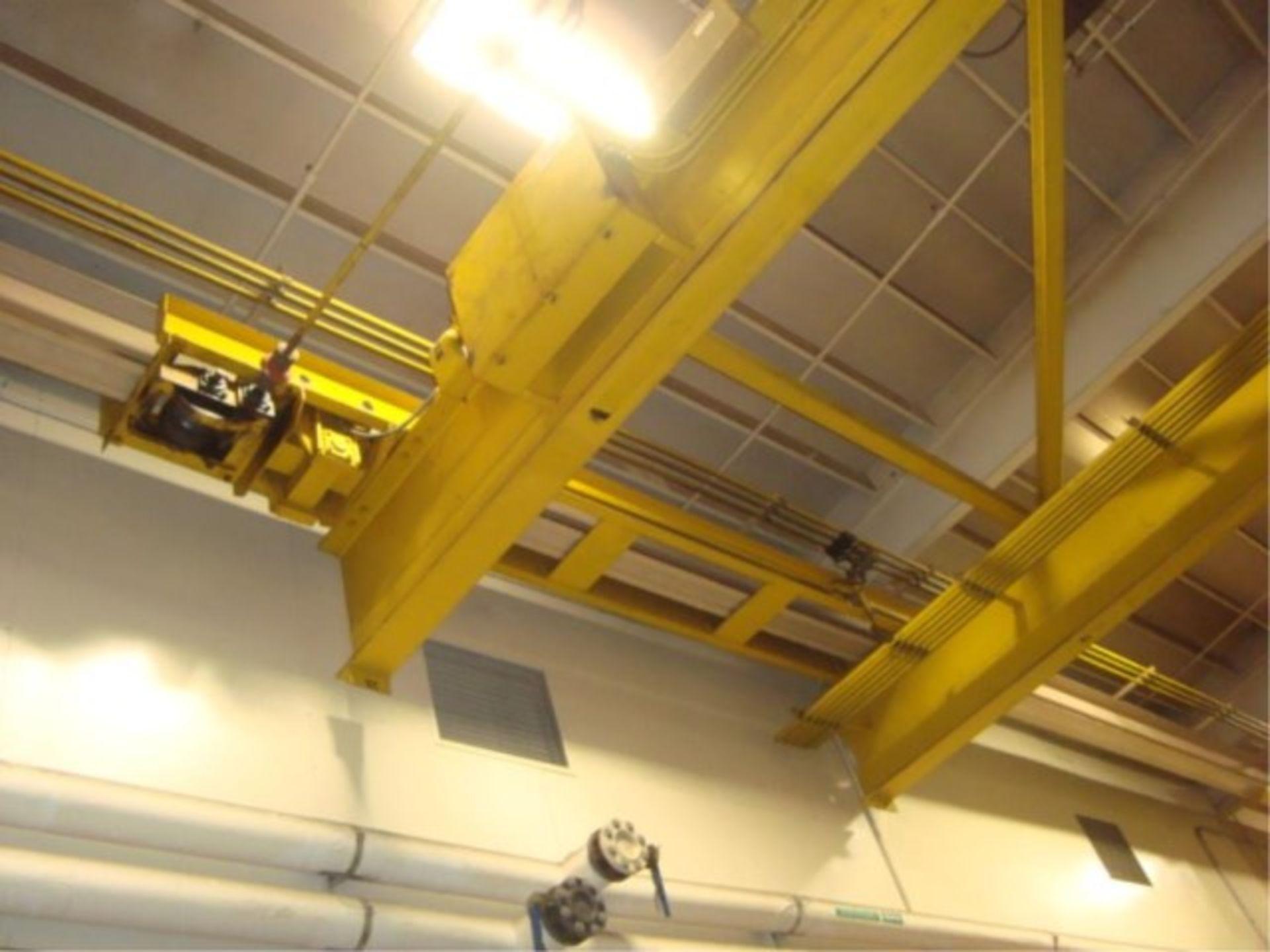 Lot 119 - 10-Ton Capacity Overhead Bridge Crane