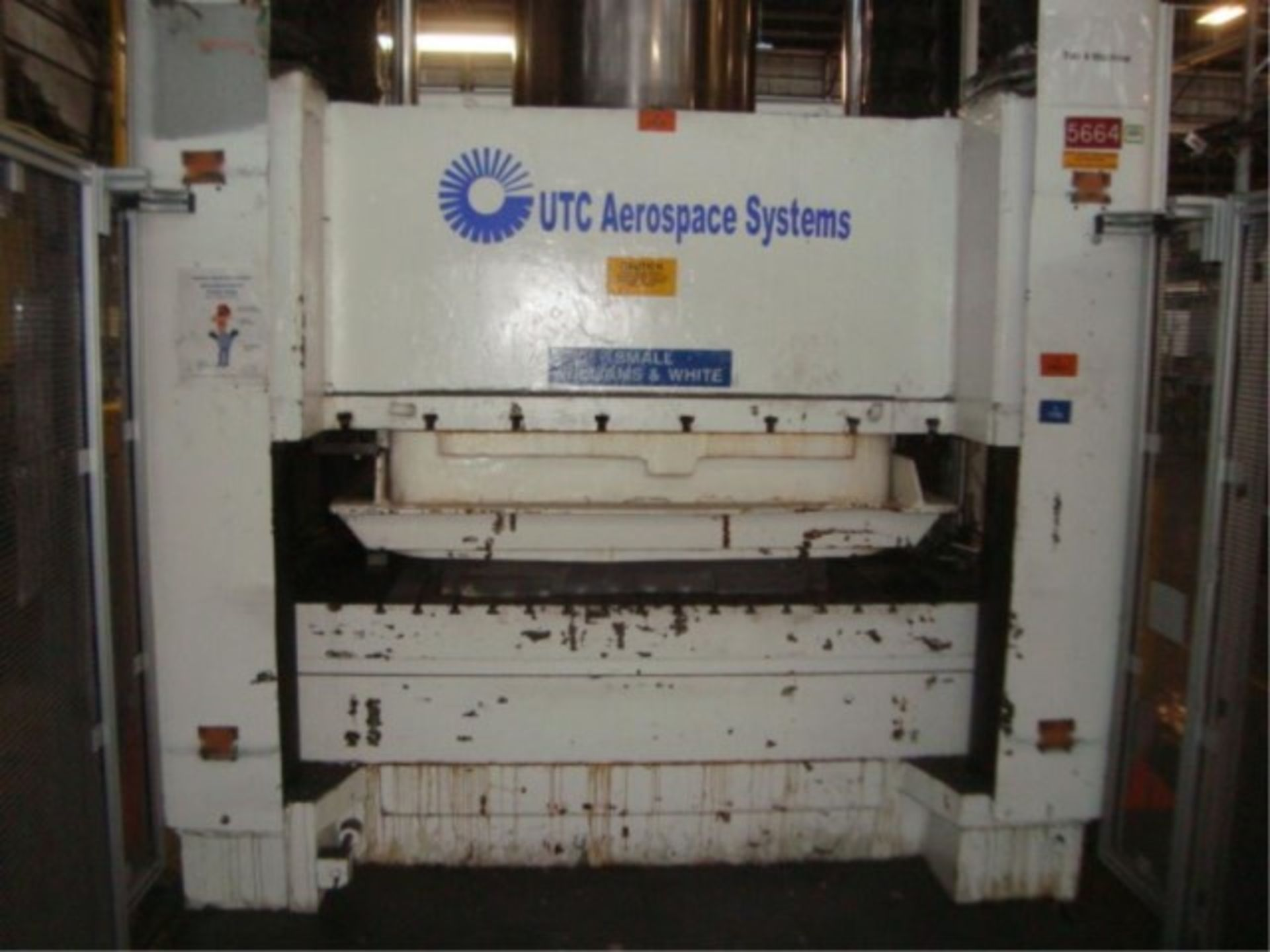 Lot 130 - 1,000 lb. Capacity Hydraulic 4-Column Press