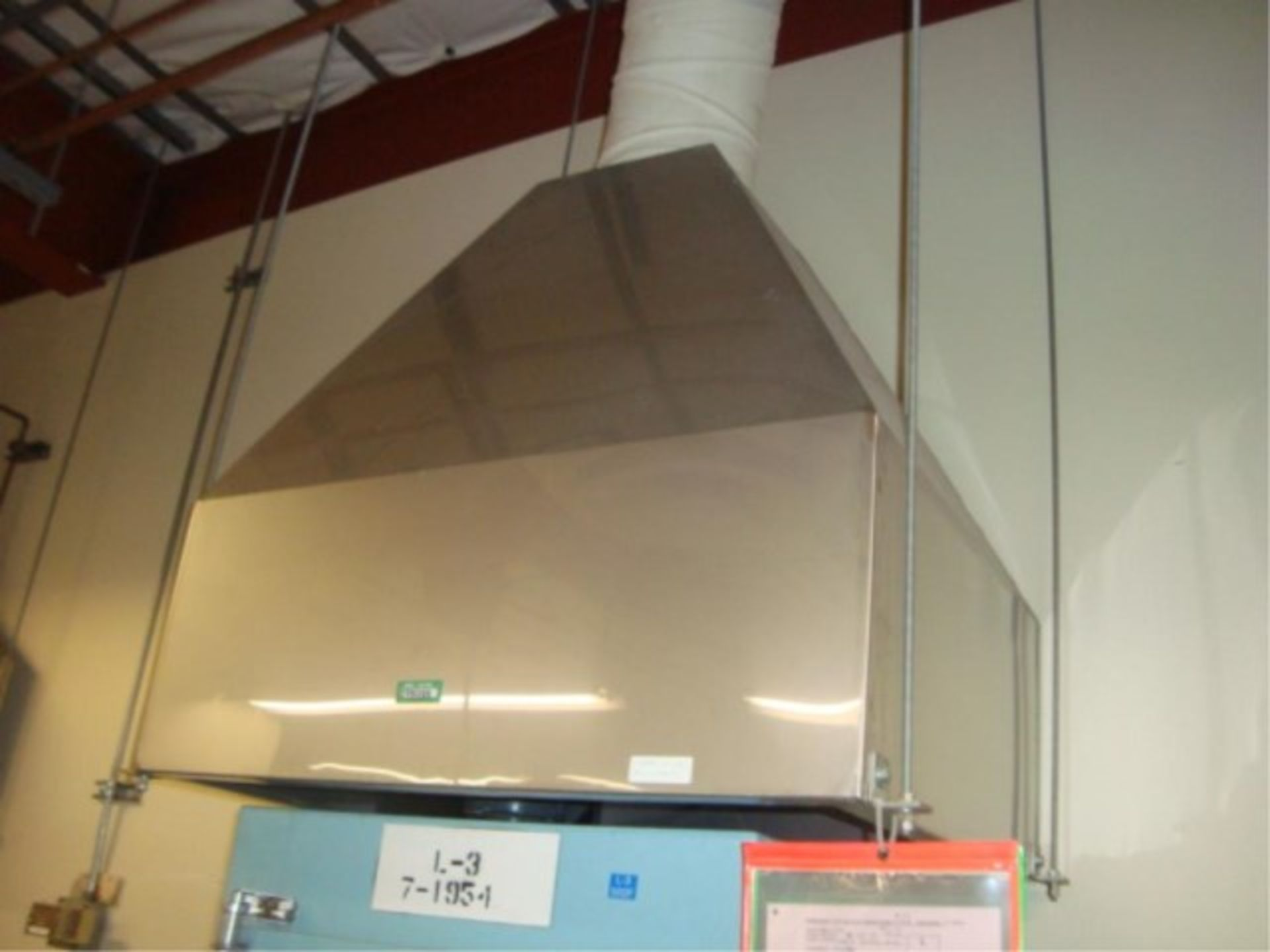 Lot 106 - Stainless Steel Exhaust Hoods