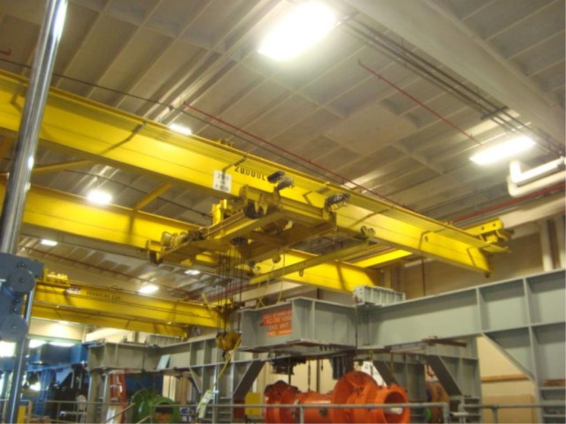 Lot 115 - 10-Ton Capacity Overhead Bridge Crane