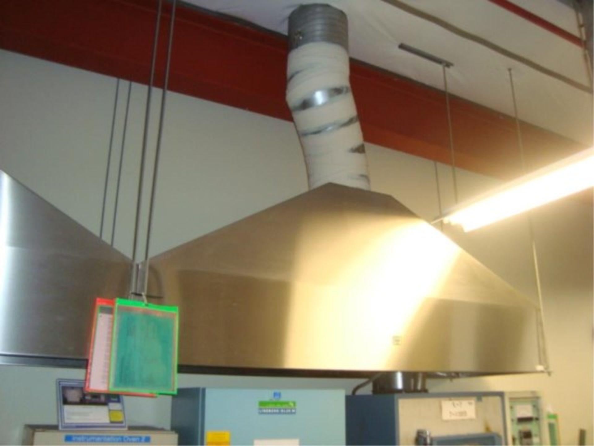 Lot 105 - Stainless Steel Exhaust Hoods