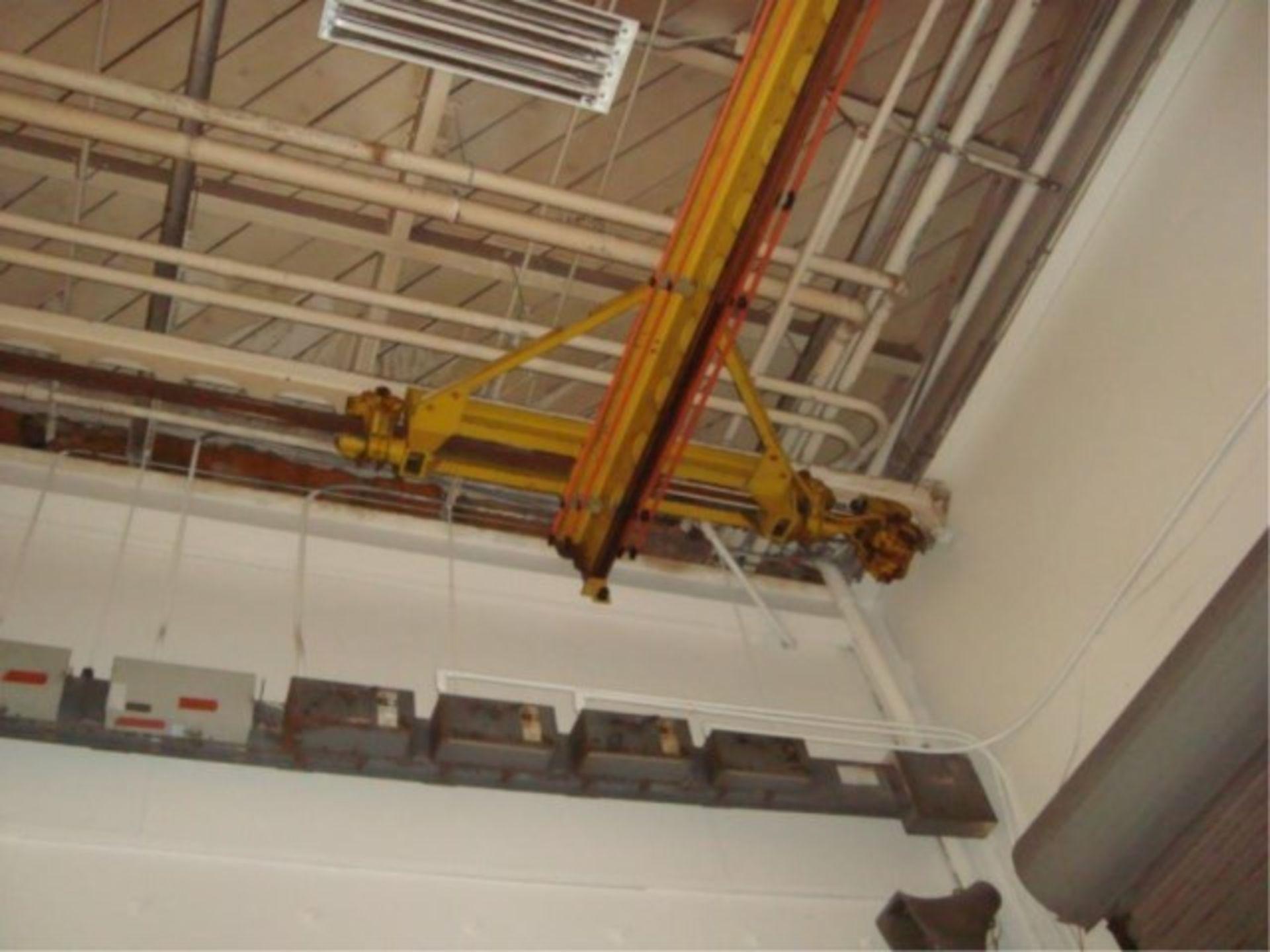 Lot 113 - 5-Ton Capacity Overhead Bridge Crane