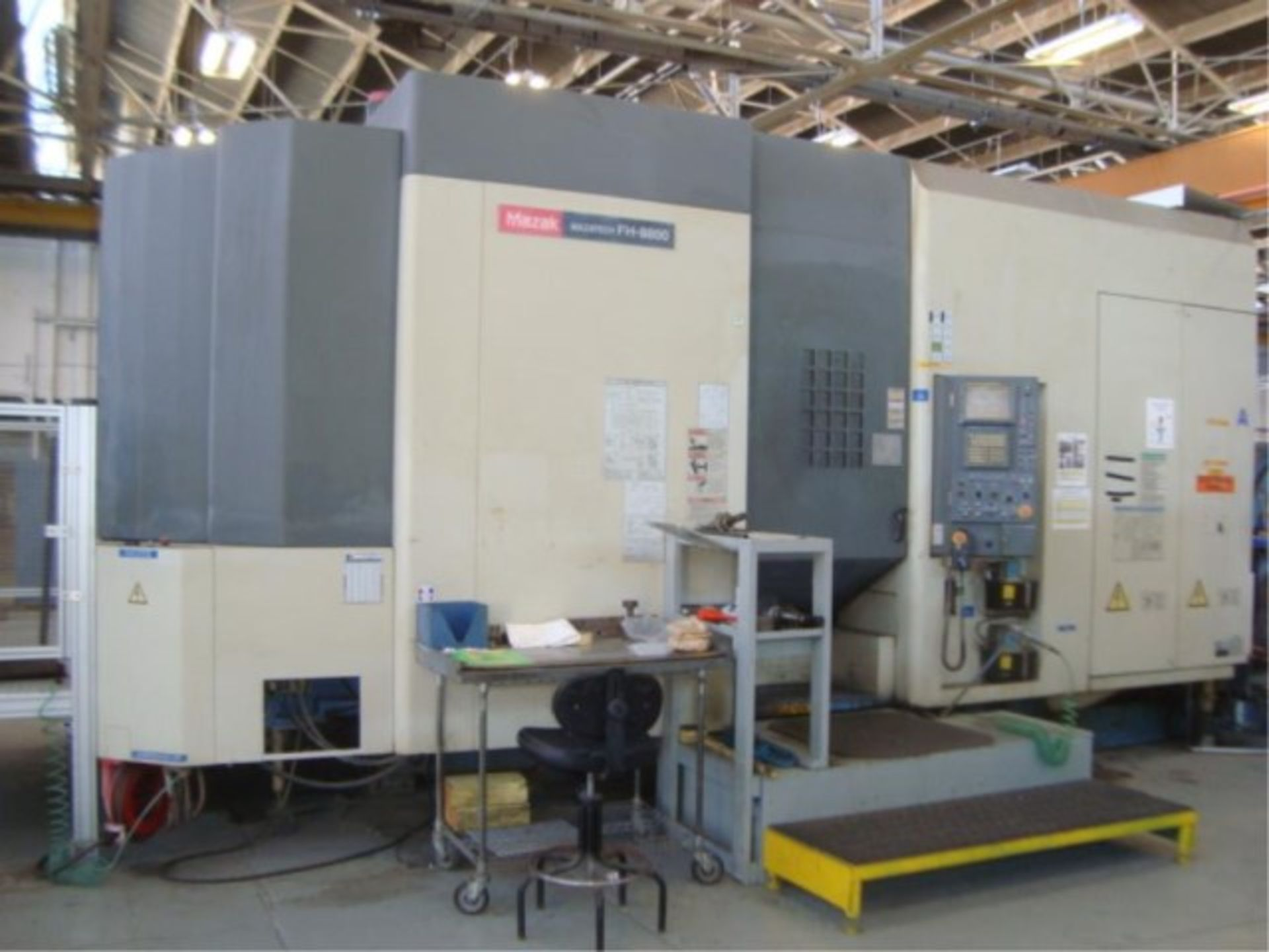 Lot 135 - 4-Axis CNC Machine Center With 80-Tool