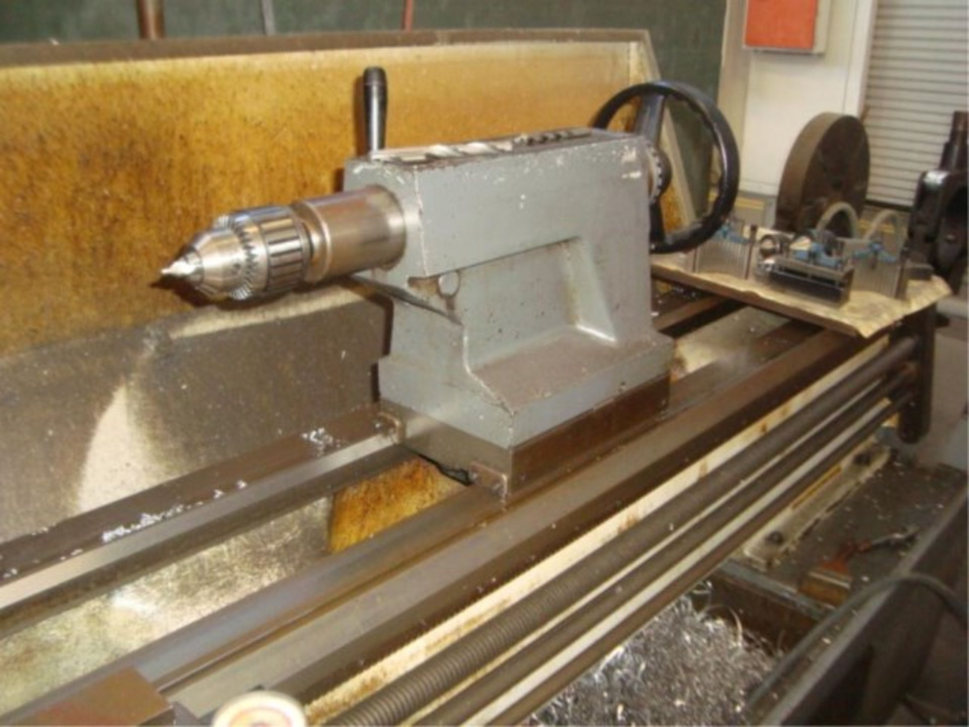 Lot 138 - Engine Lathe With Tool Holder Slide, Tailstock