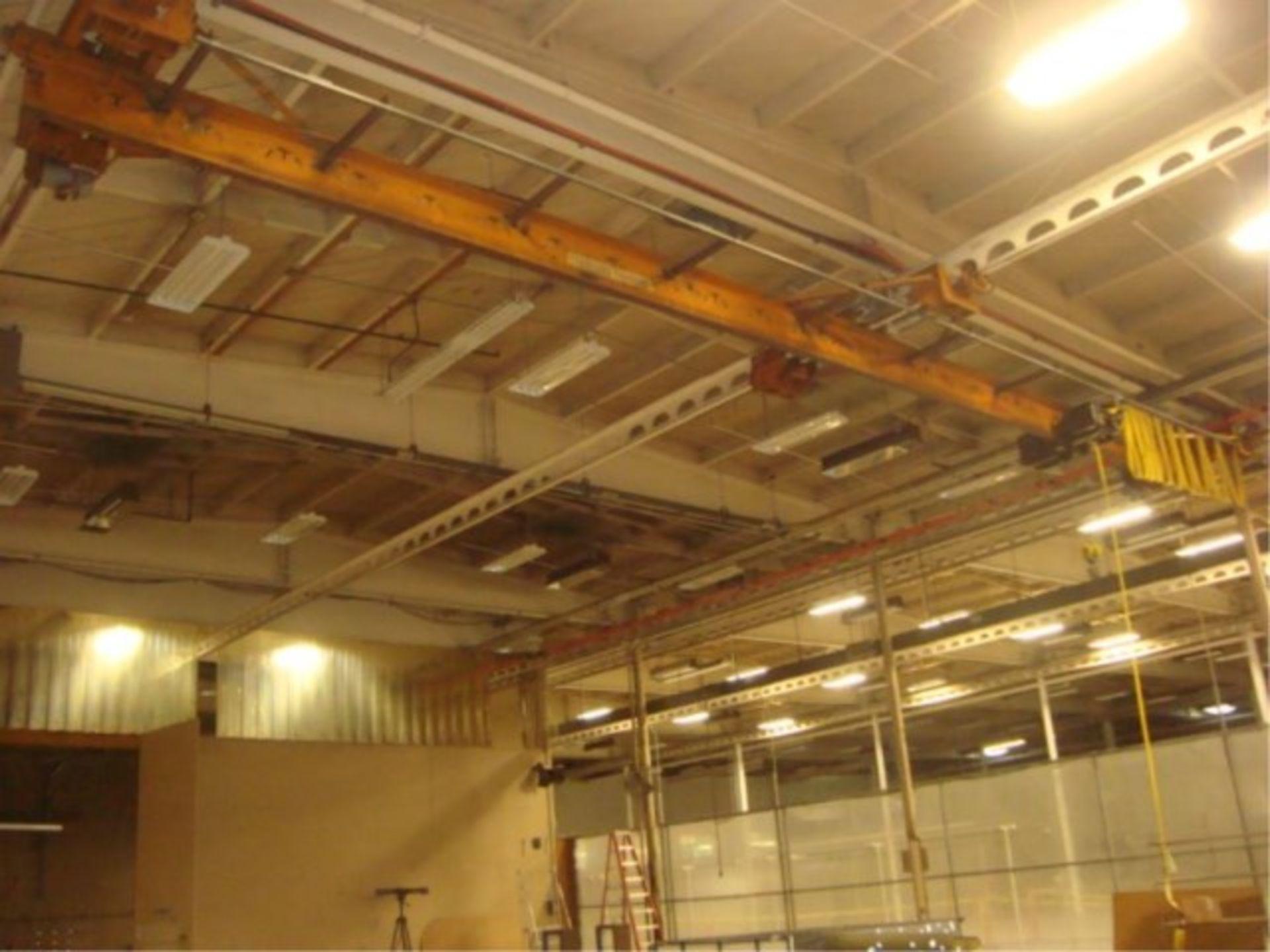 Lot 108 - 2-Ton Capacity Overhead Bridge Crane