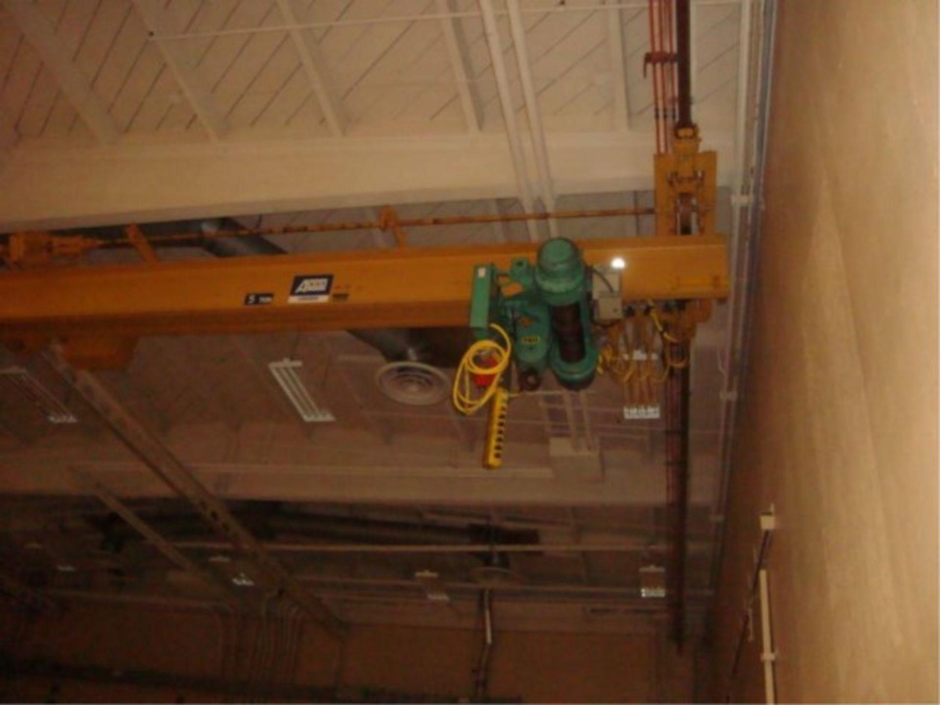 Lot 112 - 5-Ton Capacity Overhead Bridge Crane