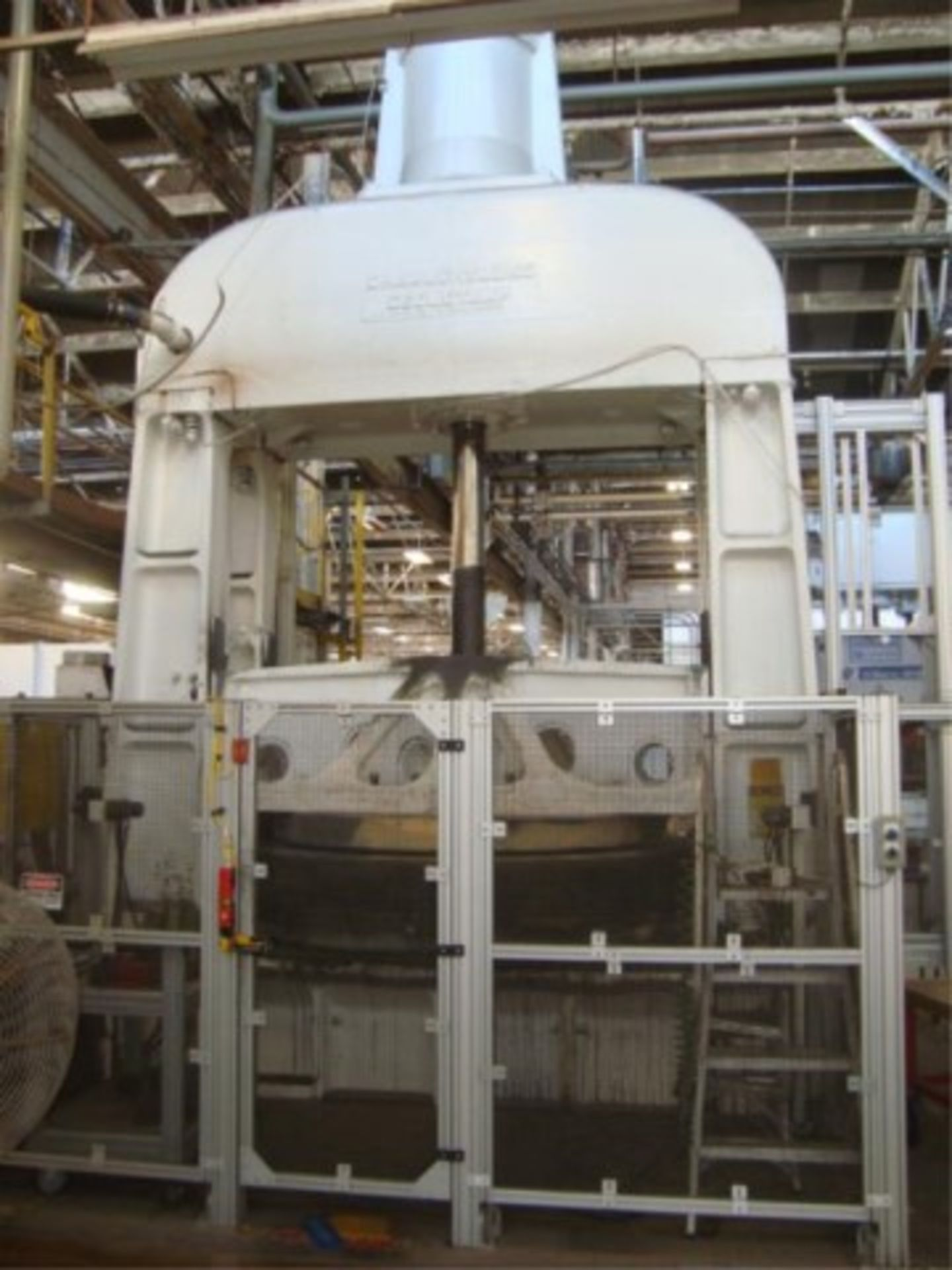 Lot 131 - Hydraulic Press, 42,500 ft/lbs. Max Energy