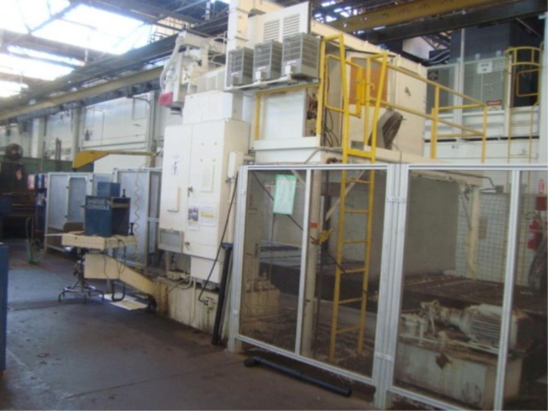 Lot 141 - Heavy Duty Two Spindle CNC Bridge Mill