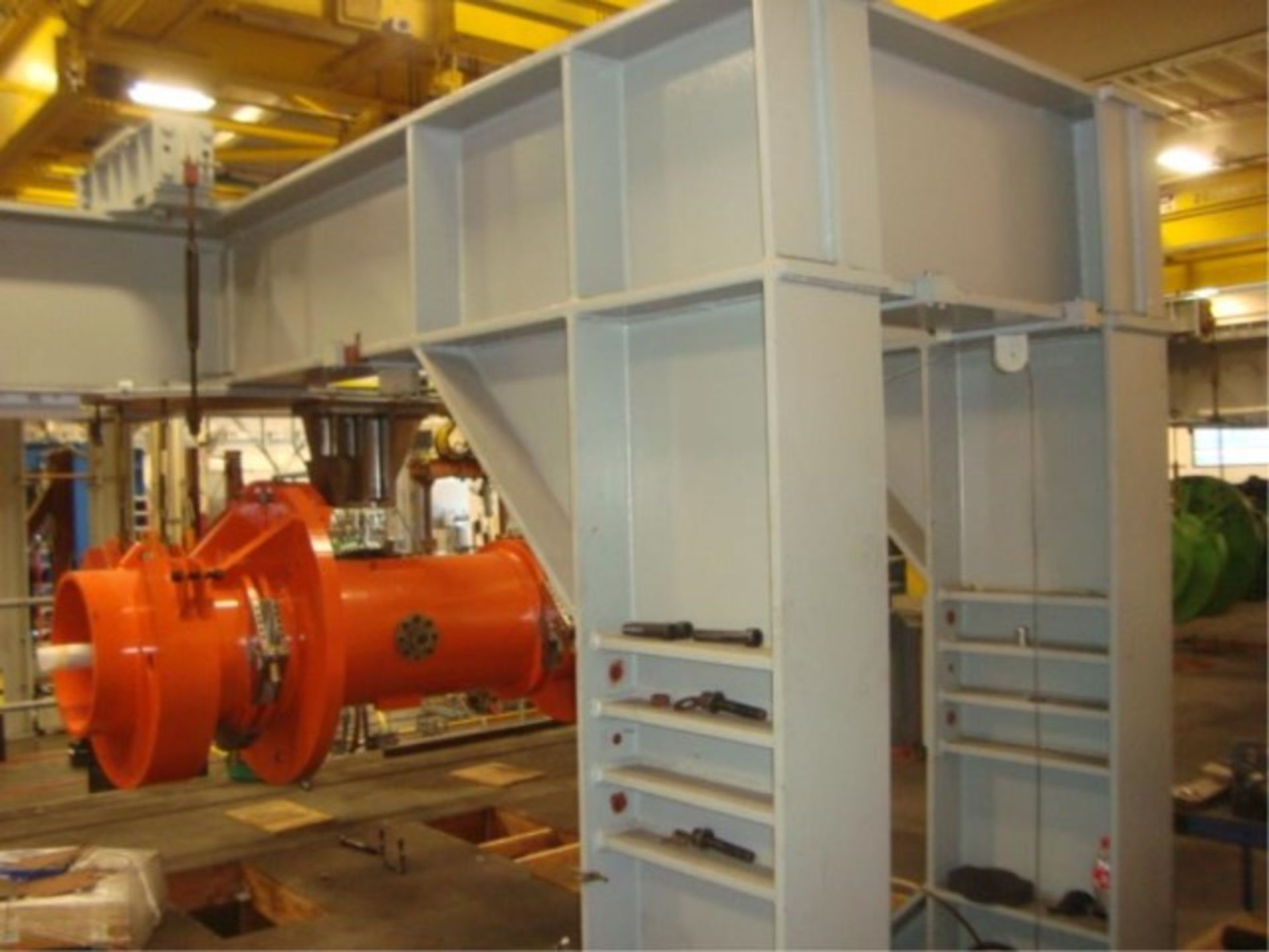 Lot 122 - Heavy Duty Engine Mount Test Stand