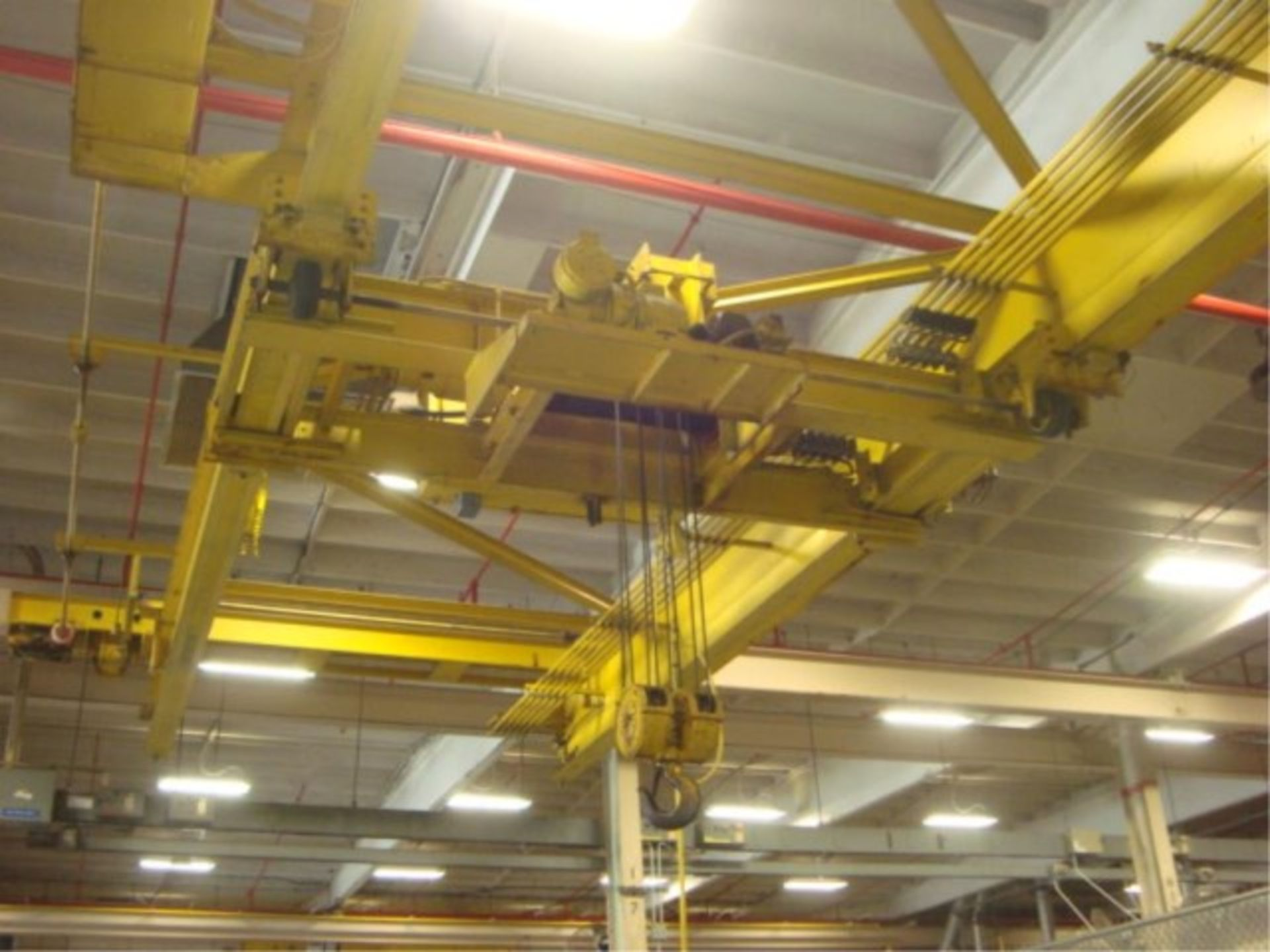 Lot 118 - 10-Ton Capacity Overhead Bridge Crane