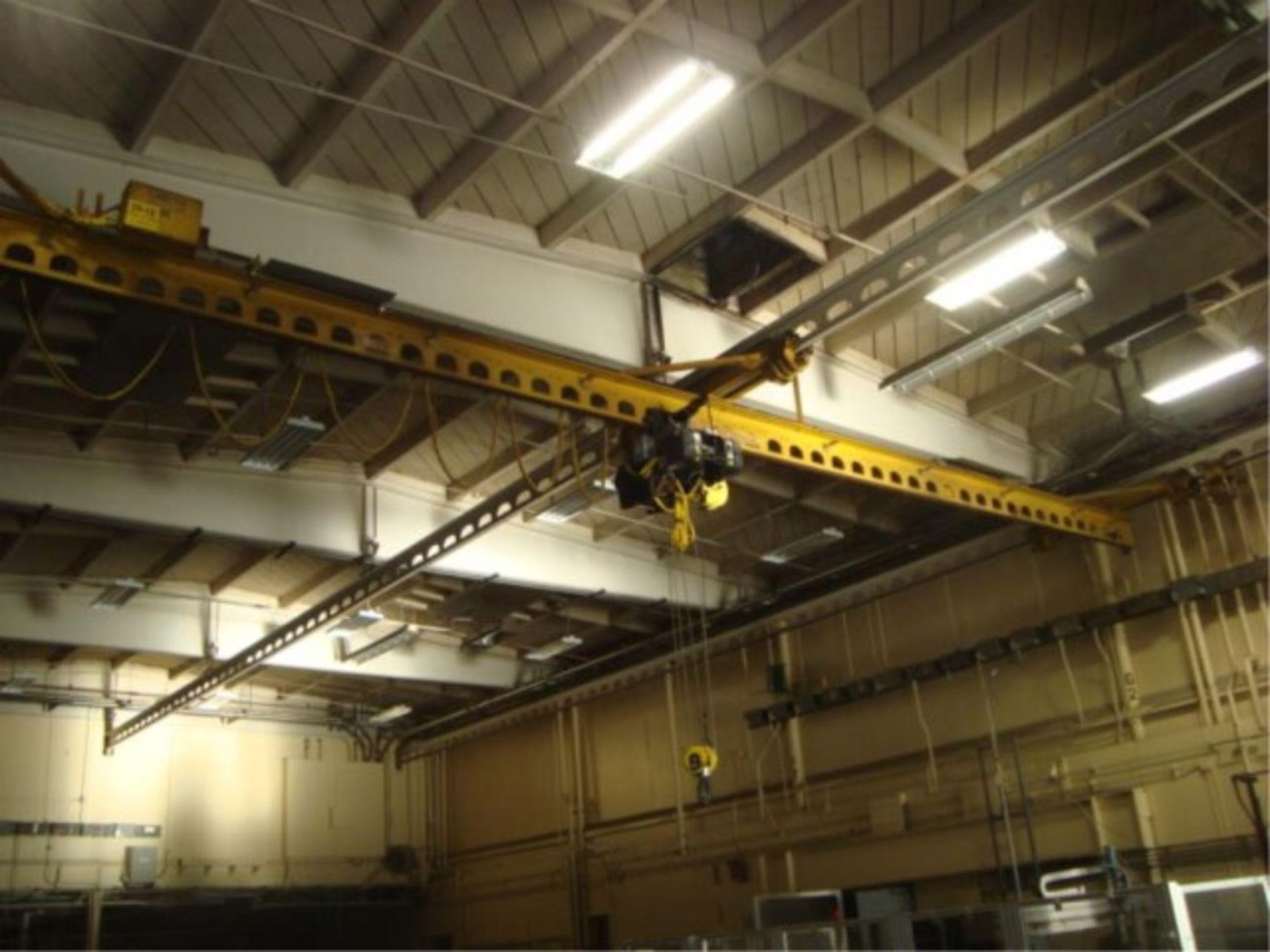 Lot 109 - 5-Ton Capacity Overhead Bridge Crane