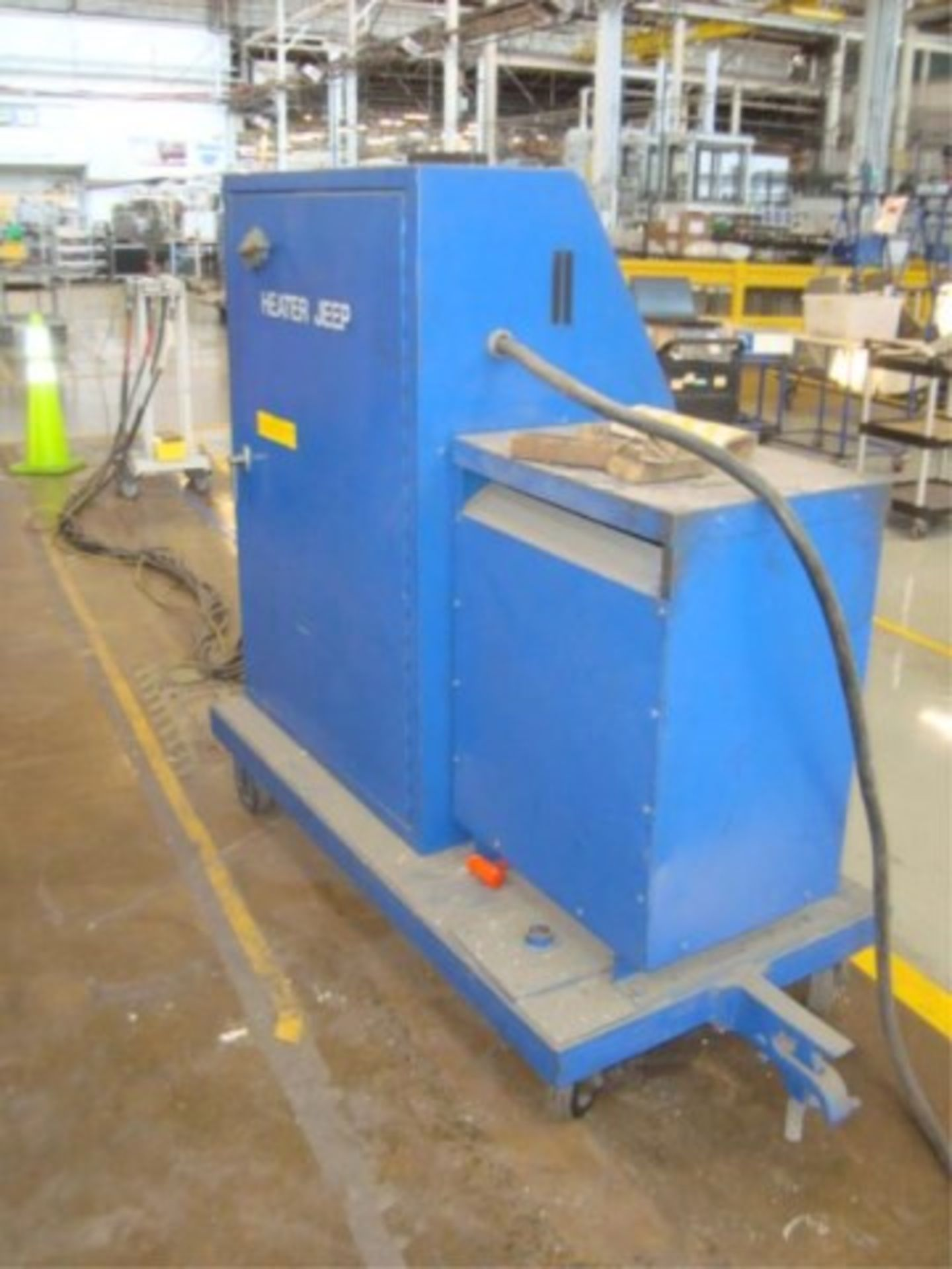 Lot 132 - Mobile Press Die Heater Jeep Console