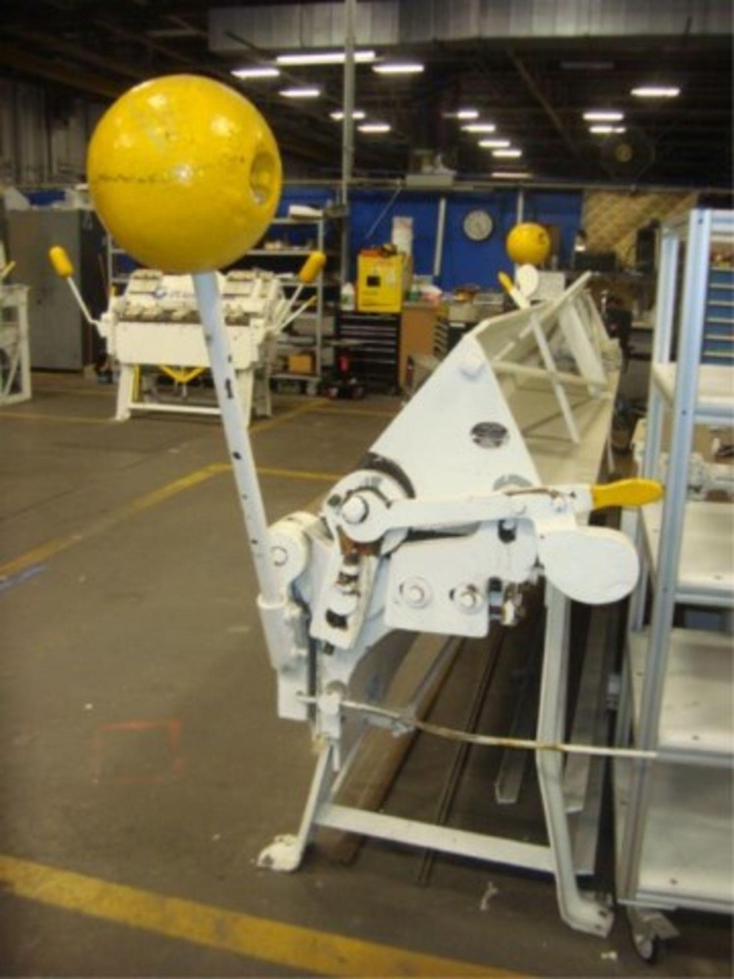 Lot 148 - 12' ft. Manual Steel Bending Brake