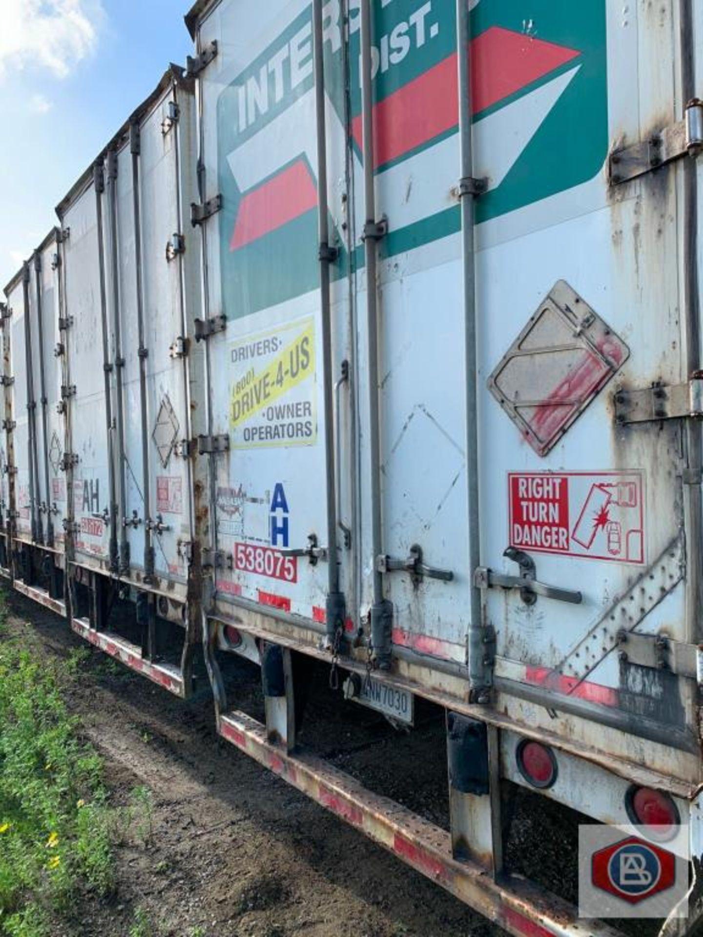 2002 Wabash DuraPlate Logistics Van Trailer 53 ft. - Image 4 of 4