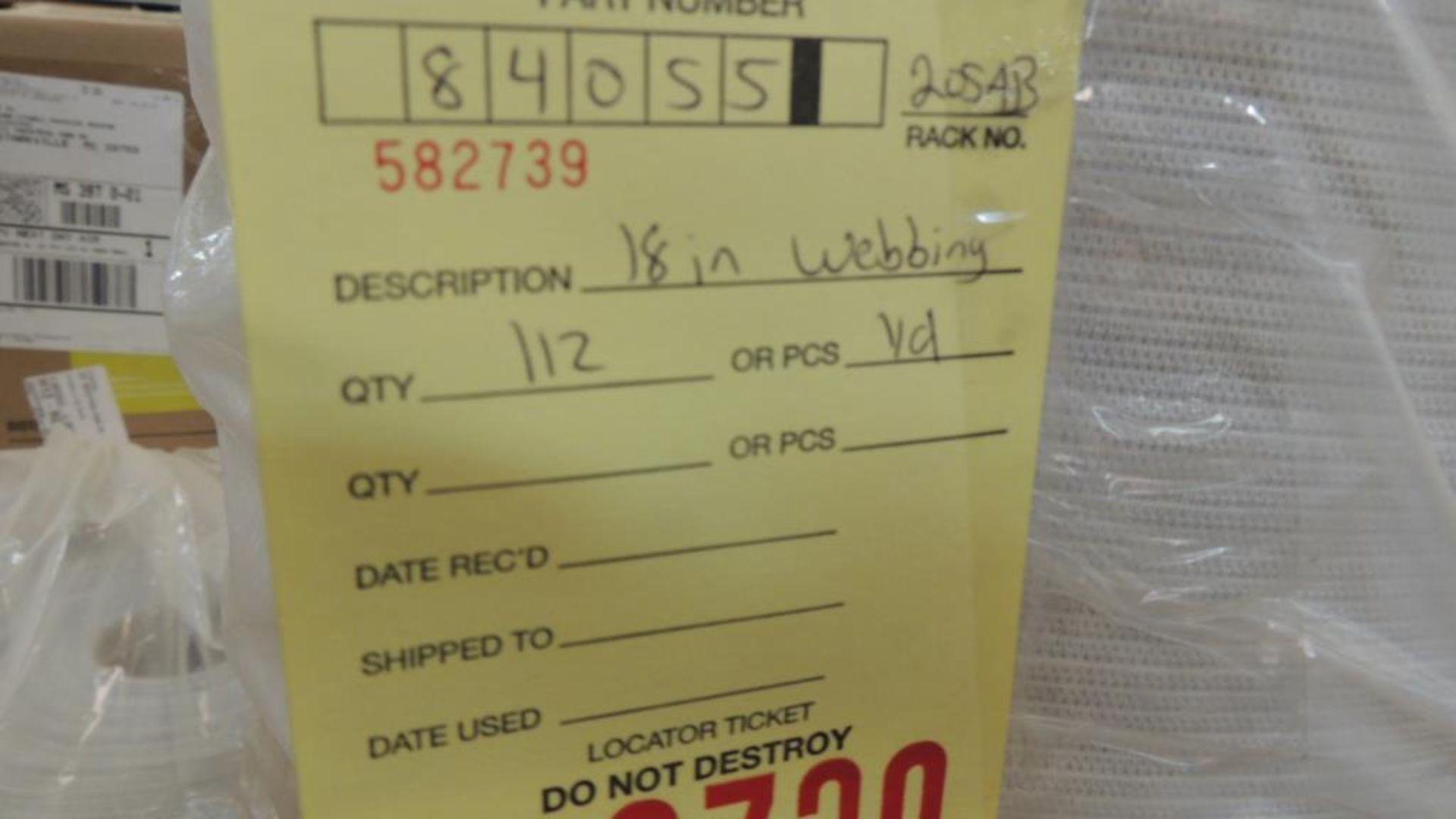 Lot 2291 - Webbing