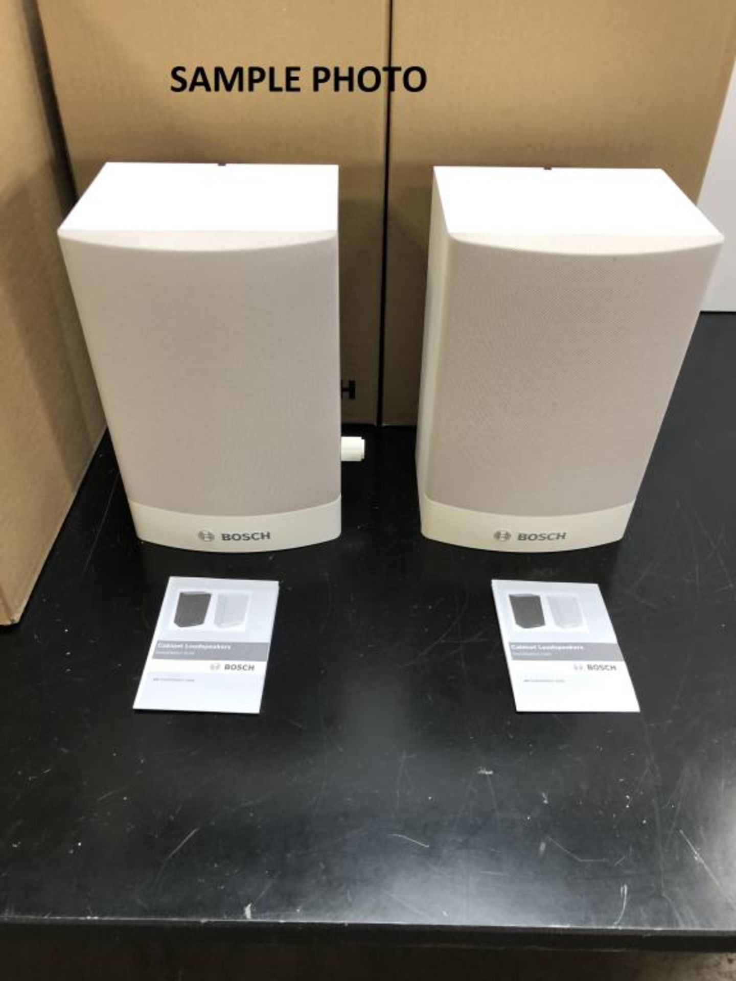 Lot 110 - Cabinet Loudspeakers