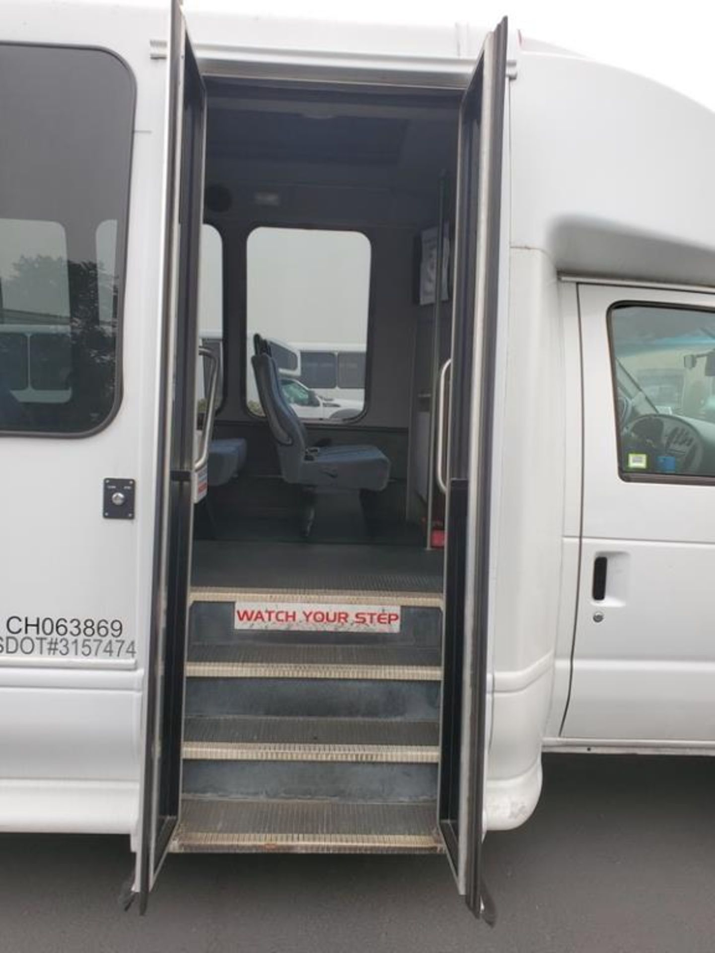 Lot 204 - FORD E450 Turtle Top Shuttle Bus