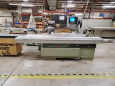 "126"" Sliding Table Panel Saw"