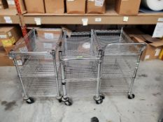 Wire Frame Push Carts