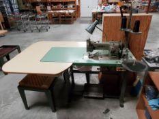 Walking Foot Upholstery Sewing Machine