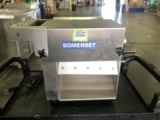 Somerset CDR-100 S.S Manual Dough Sheeter