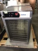 (2) Nemco 6410 Pizza Holding Cabinets