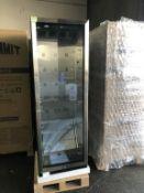 Summit SCR1401LH Glass Door Bev. Fridge *New*
