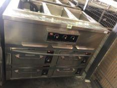 Hatco Modular Built-In Dry Warmer Station