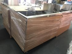 BK Resources FTWS-4829L Food Truck Wash Station