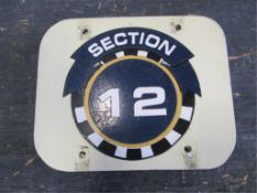 Section 12 Sign