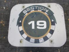 Section 19 Sign