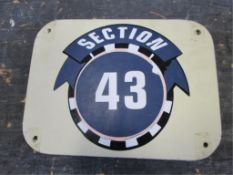 Section 43 Sign