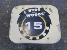 Section 15 Sign