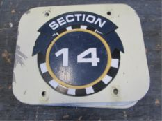 Section 14 Sign