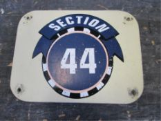 Section 44 Sign