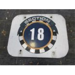 Section 18 Sign