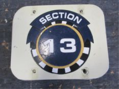 Section 13 Sign
